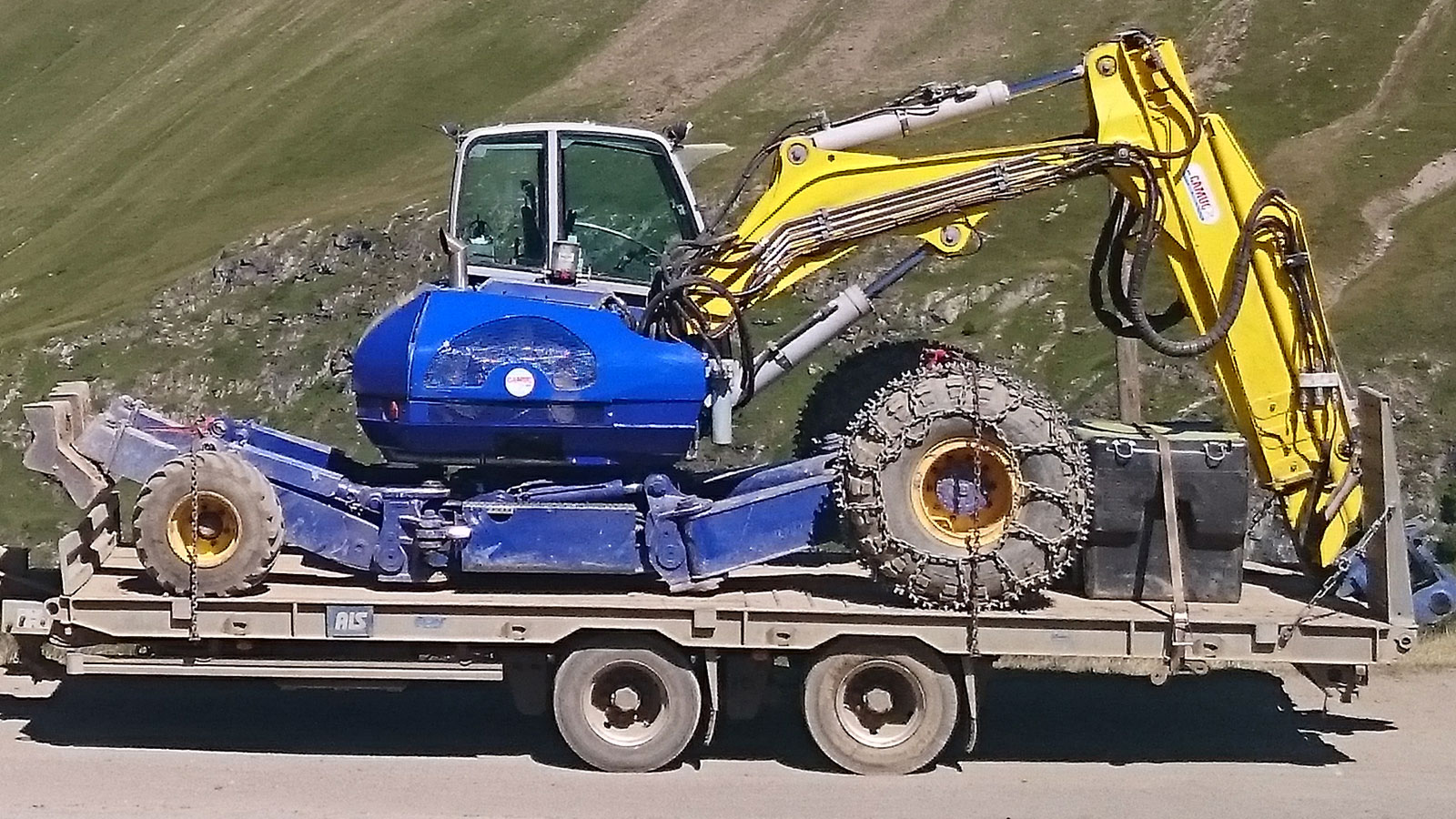 Porte-engins 2 essieux ECIM 19t
